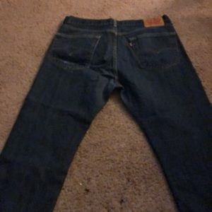 NWOT Men's Levi Blue Jeans.